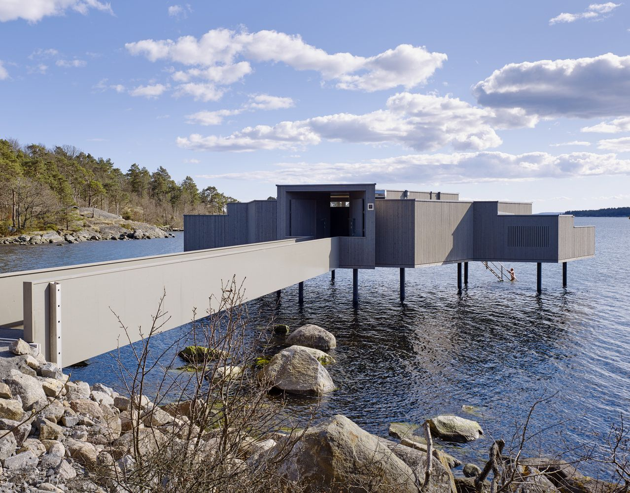 Gallery of karlshamn cold bath house white arkitekter 2