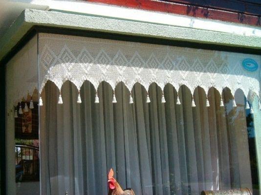 Cenefas y cortinas a crochet   temuco   productos · needish ...
