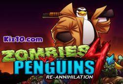 Juego Zombies Vs Pinguinos 4 Aniquilacion Gratis Juegos De Zombis