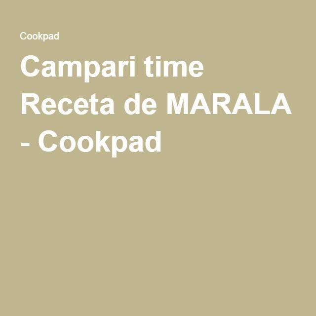 Campari time Receta de MARALA - Cookpad