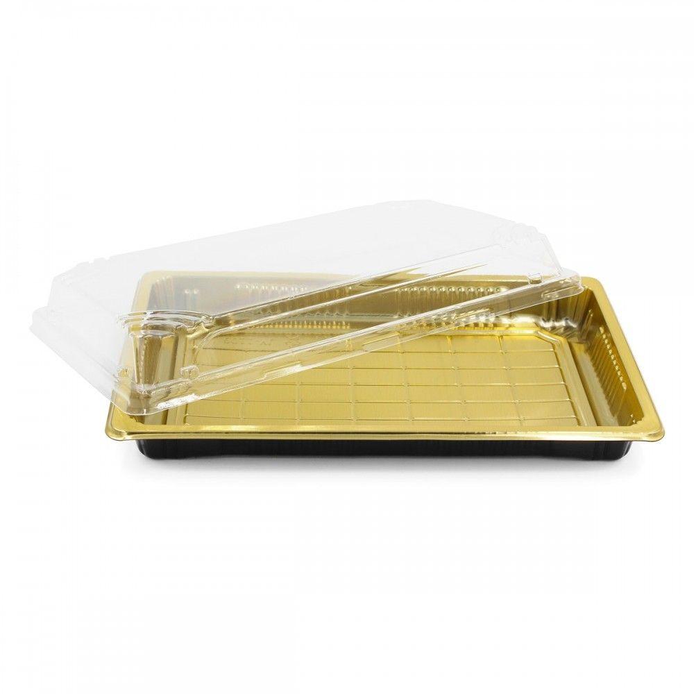 علب بلاستيك اللون ذهبي غطاء شفاف العدد 10 علبه الطول 24 سم العرض 15سم الارتفاع 5 سم متوفرة لدى موقع صفقات Takeout Container Container 10 Things