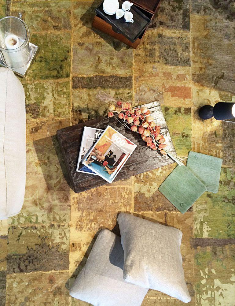 Interior Design-Tip: Designer Rugs as living spaces