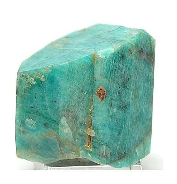 Amazonite Crystal Cluster Deep Aqua Blue Crystal by FenderMinerals