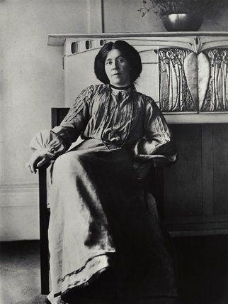 Scottish artist, Margaret Macdonald
