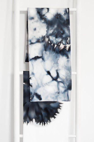 Mit Eiswürfeln Textilien färben – Eine DIY-Anleitung in 3 Schritten von bildschœnes