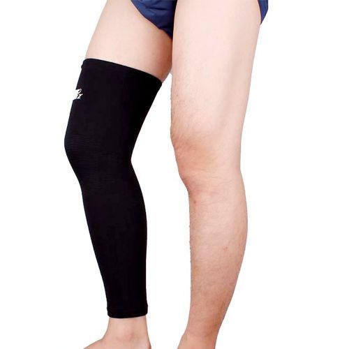 Elastic Sports Long Leg Knee Support Brace Wrap Protector Knee Pad Patella Guard