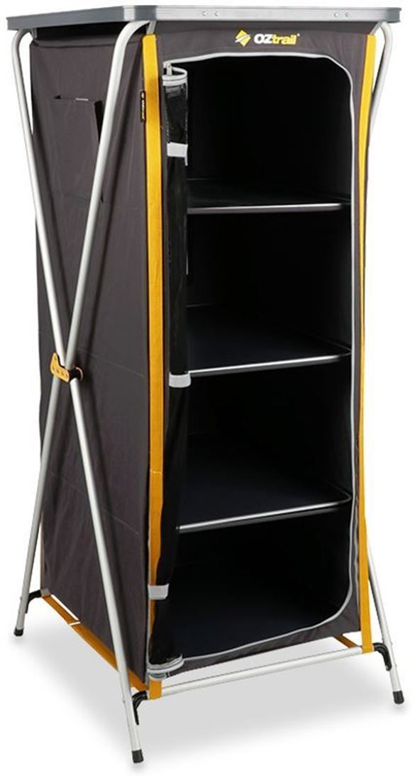 Get The Oztrail 4 Shelf Deluxe Cupboard Online At The Lowest Price With Fast Free Delivery Same Day Dispatch From Snowys Shelves Cupboard Storage