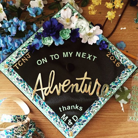 65+ Gorgeous Graduation Cap Decoration Ideas | Graduation ...