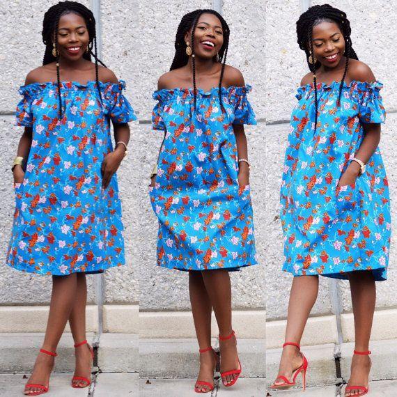 tenue africaine en pagne pour femme