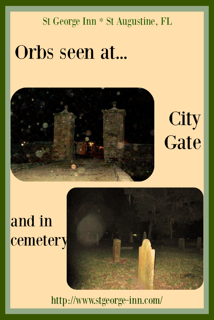 St. Augustine that lure ghost hunters in every day. Two