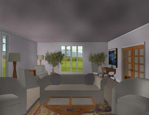 How To Arrange Living Room Furniture Rectangular Living Rooms
