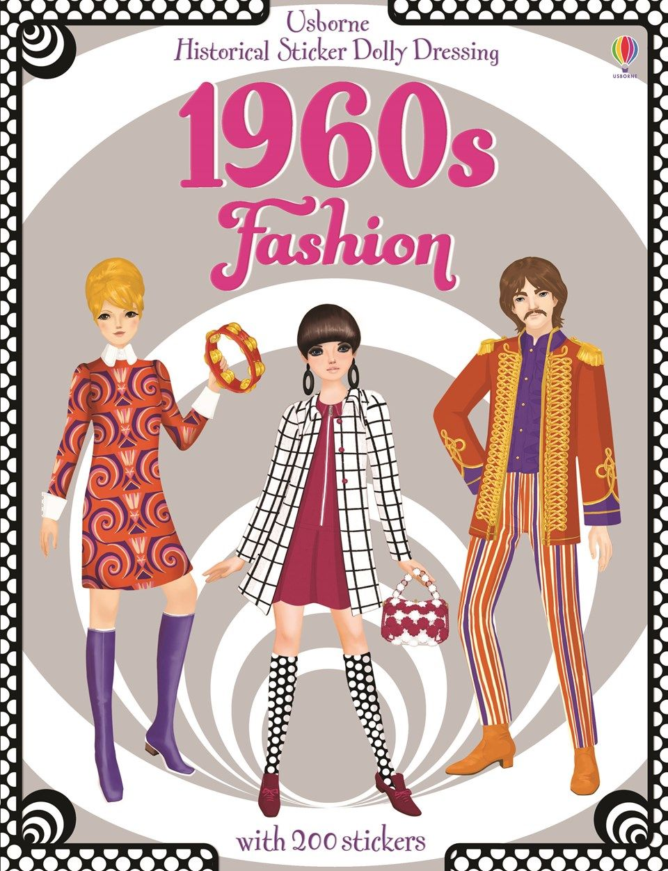 Usborne Books At Home Fashion Coloring Book Coloring Book Clothes Colorful Fashion