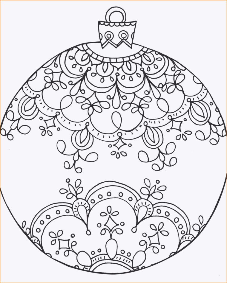 Disegni Di Natale Da Colorare Per Adulti.Disegni Da Stampare Palla Rotonda Con Disegni Mandala Pallina Natalizia Da Colo Pagine Da Colorare Per Adulti Pagine Da Colorare Per Bambini Colori Di Natale