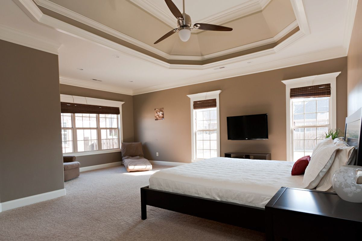 Master bedroom casablanca le grande ceiling fan sw Master bedroom ceiling colors