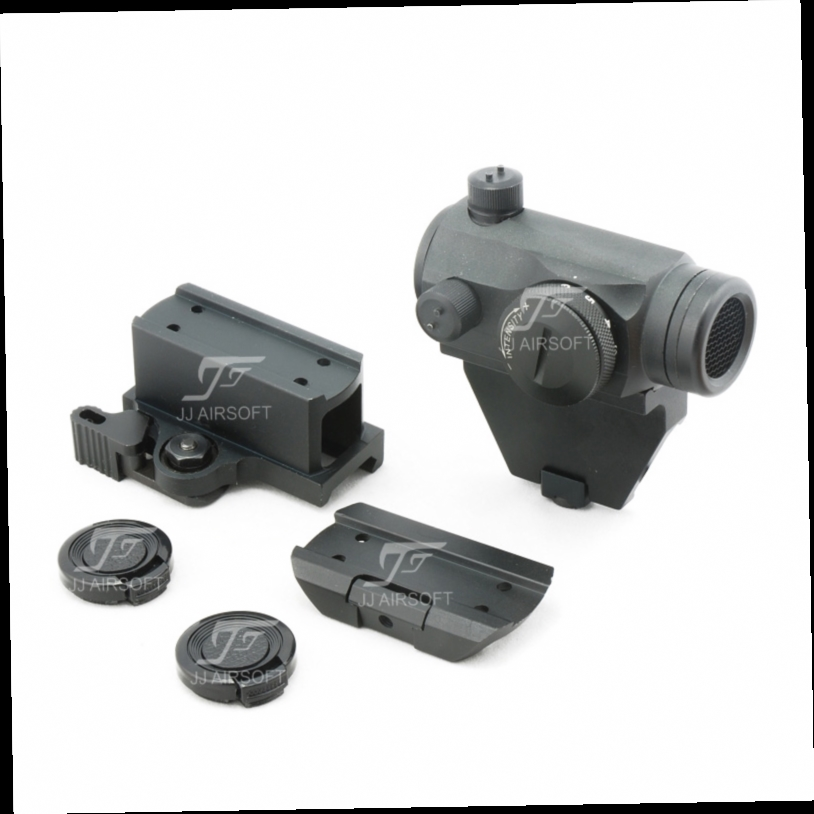 48.05$  Watch here - http://alipo9.worldwells.pw/go.php?t=32789144074 - JJ Airsoft 1x24 Red Dot with Killflash / Kill Flash , Offset Rail Mount, QD Riser Mount and Low Mount (Black/Tan)