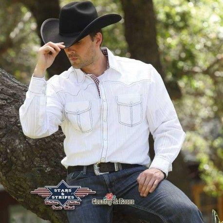 Perfecta esta  camisa  country para estar impecable y súper elegante y no  perder tu propio estilo  vaquero. Si la acompañas de un sombrero negro a4f012a5c6fc0