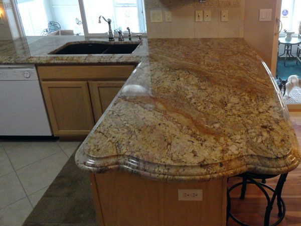 Edges For Granite Countertops Kitchens Bathrooms Fireplaces