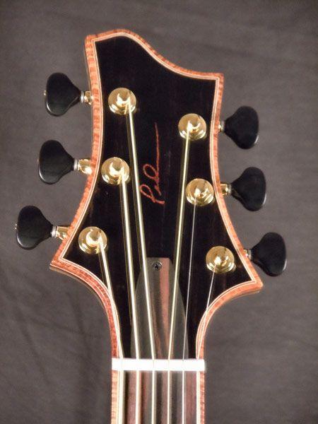 extreme custom euphoric mojo acoustic guitar pederson custom guitars formerly abyss guitar. Black Bedroom Furniture Sets. Home Design Ideas