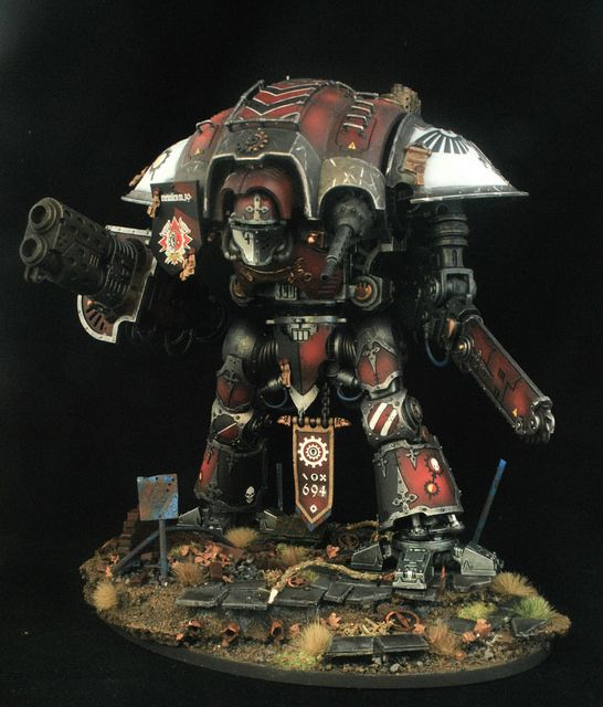 40k - Imperial Knight by Martin Payne