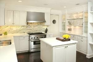 I can never get sick of white kitchens!