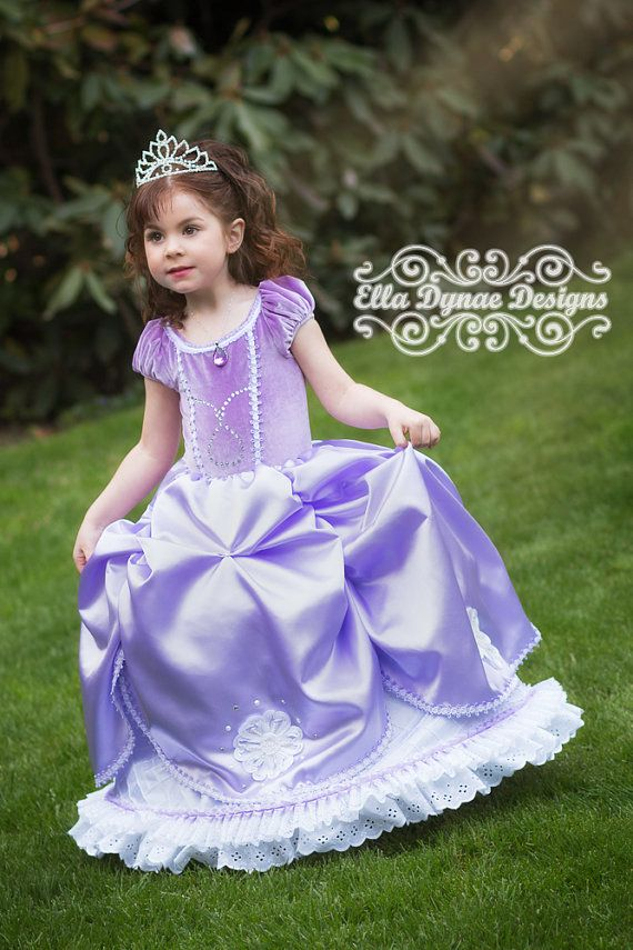 Click here to shop Sofia the First Disney Inspired Princess Gown ...