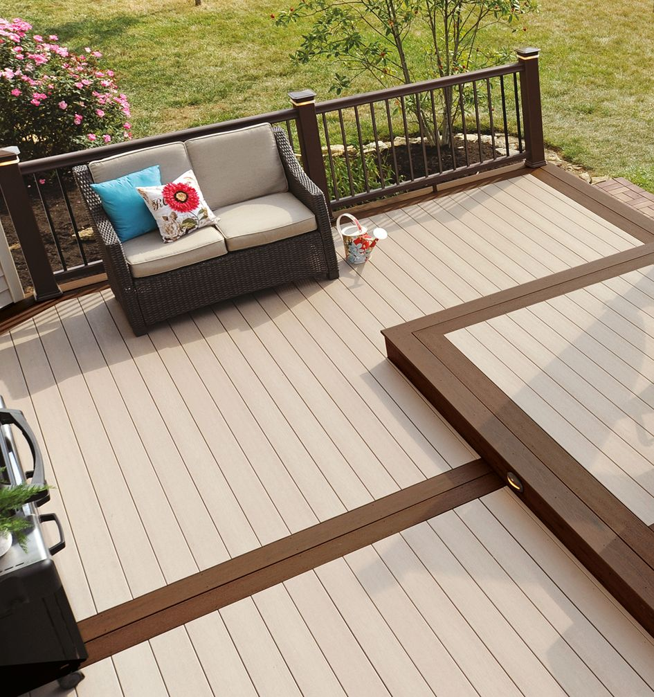 Modular Split Level Deck: A Split-level Deck With A Difference! Combining EasyClean