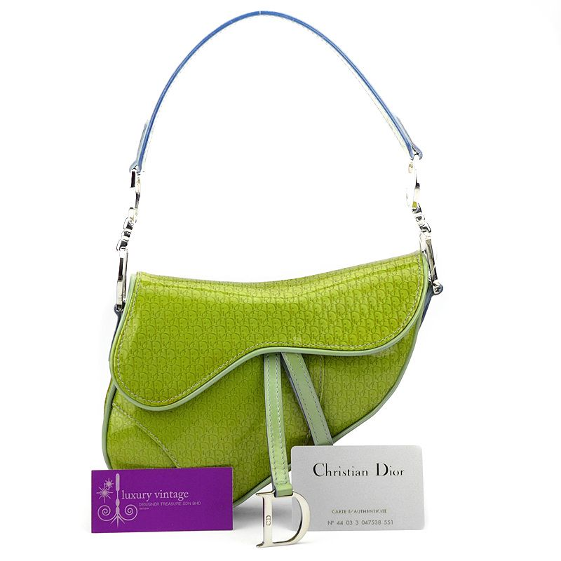 Luxury Vintage Kl Dior Saddle Bag Bags Hot Handbags