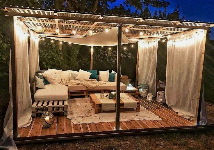 30 Diy Pallet Outdoor Furniture You Need To See Plany Besedki