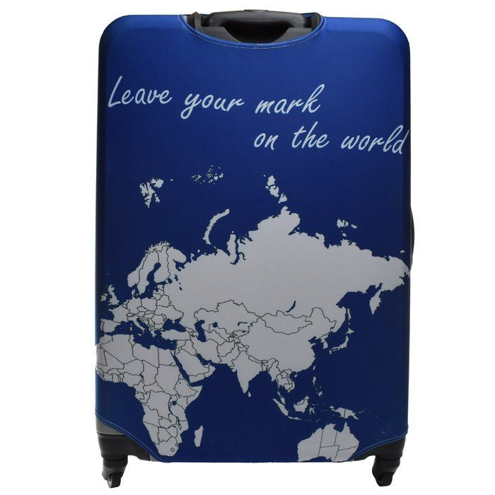 Markable luggage covers with world map design you can color on med markable luggage covers with world map design you can color on med 25in gumiabroncs Gallery