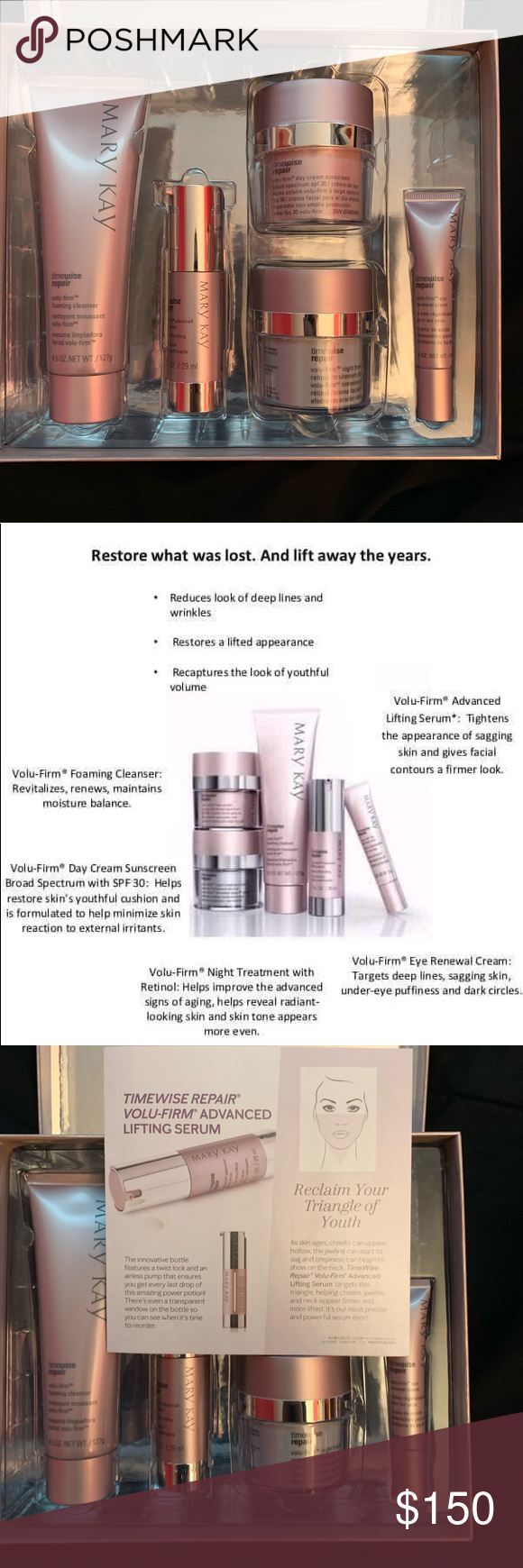 LAST ONE!! NWT Mary Kay Timewise Repair Set Boutique