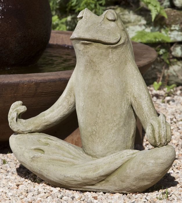 Zen Frog Statue   I Want Him!! | For The Home | Pinterest | Garden  Fountains, Fountain And Gardens