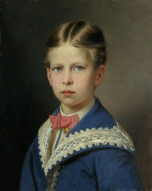 Prince Waldemar of Prussia (1868-1879) son of Prince Friedrich and Princess Victoria of Great Britain. Died aged 9 of diptheria