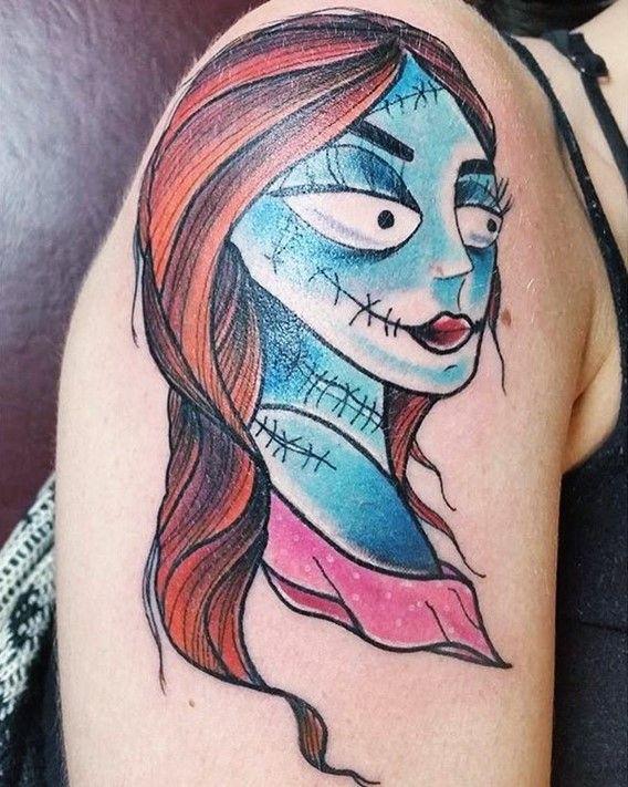 nightmare before christmas tattoos sally