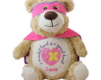 Personalized Teddy, Baby Gift, New Baby, Angel, Baby, Teddy Bear,