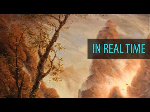 Painting a Foggy Mountain Range - Ryan O'Rourke - YouTube