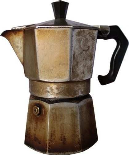 Make My Old Moka Like New 3-Cup Alluminium (Original Bialetti Replacements) + 250 Grams of Gimoka Coffee! [ Italian Import ] - http://teacoffeestore.com/make-my-old-moka-like-new-3-cup-alluminium-original-bialetti-replacements-250-grams-of-gimoka-coffee-italian-import/