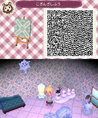 Snowflake wallpaper QR code (acnewleafdesigns) Animal