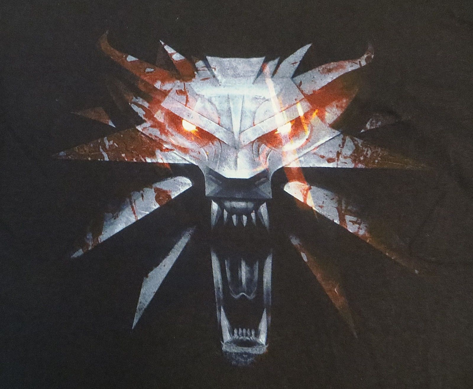 WITCHER 3 WOLF LOGO T-SHIRT XL NEW LICENSED GAME TEE