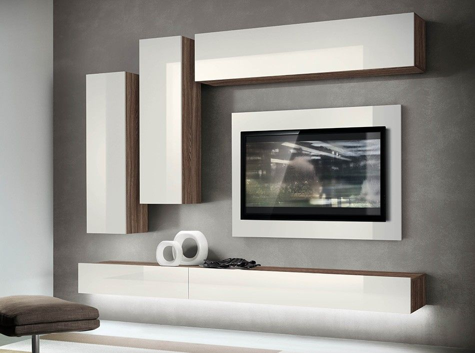 Italian Wall Unit Vv 3923 Www Umodstyle Com Living Room Wall