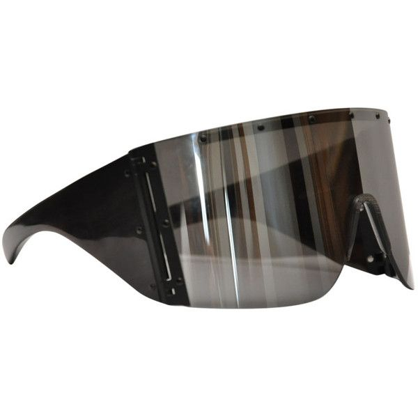 95123c4451e01 Rick Owens Horn sunglasses ( 960) ❤ liked on Polyvore featuring accessories