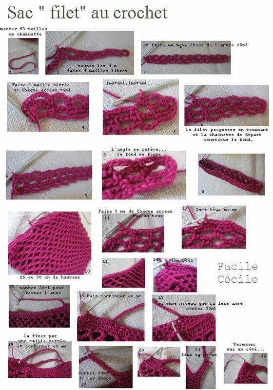 Bolsa crochet   Crochet   Pinterest   Bebe