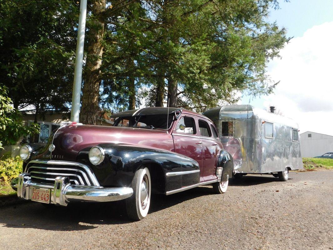 Vintage Camper Trailers For Sale - 1938 Schult Nomad and 1948 ...