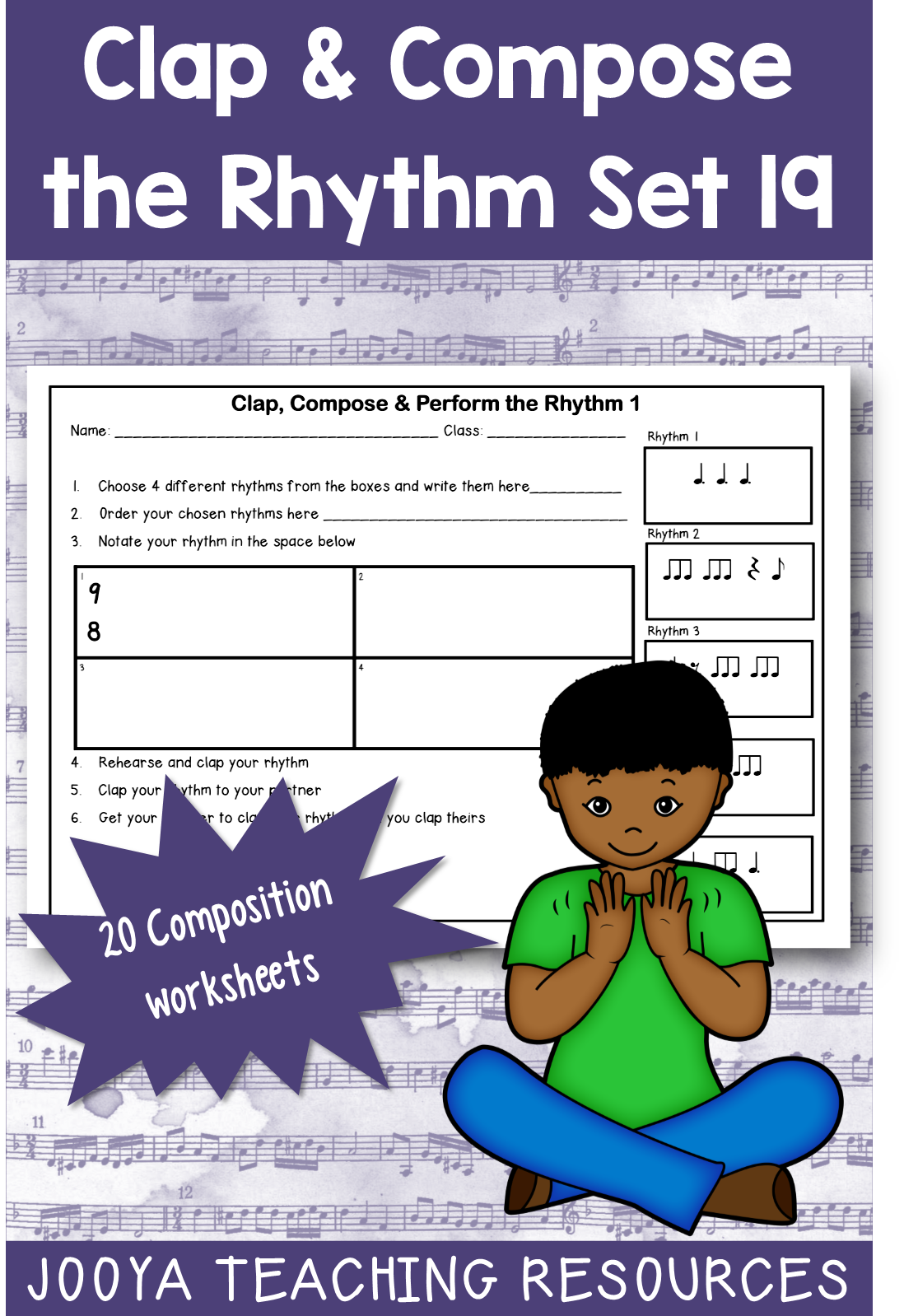 Music Composition Worksheets