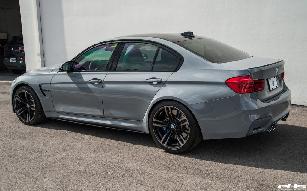 Nardo Gray Bmw F80 M3 Gets Aftermarket Upgrades With Images