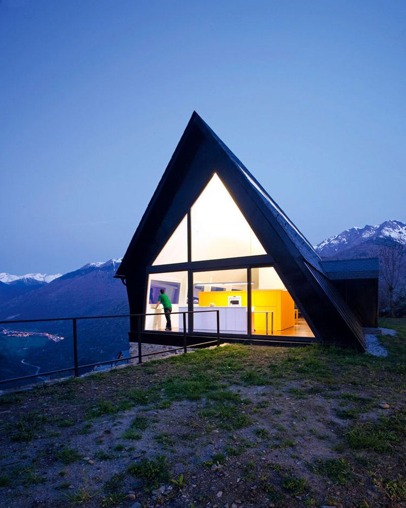 first popularized for their simple design and affordable cost todays a frame houses are finding renewed interest with design modifications that expand