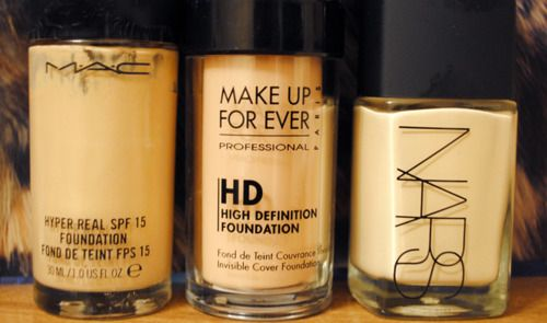 MAC ; Make Up Forever ; NARS