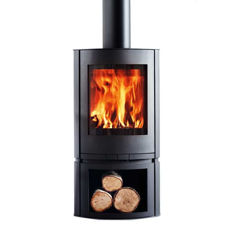 Scandia Helix 200sqm Indoor Radiant Wood Heater | Fireplace Ideas ...