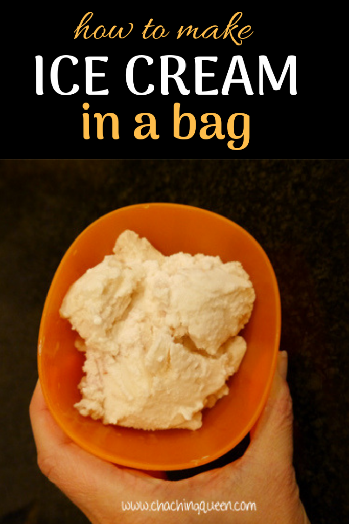 Ice Cream In A Bag Recipe How To Make At Home Without An Maker