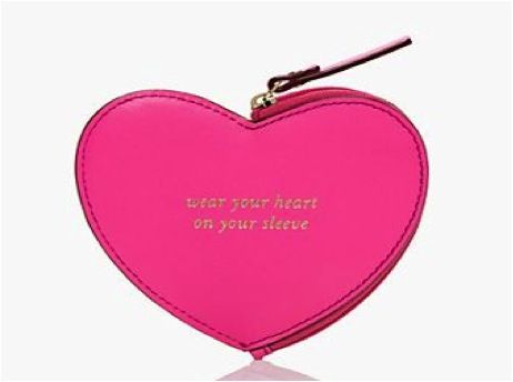 10 Valentineu0027s Gift Ideas For Her: Kate Spade Heart Coin Purse