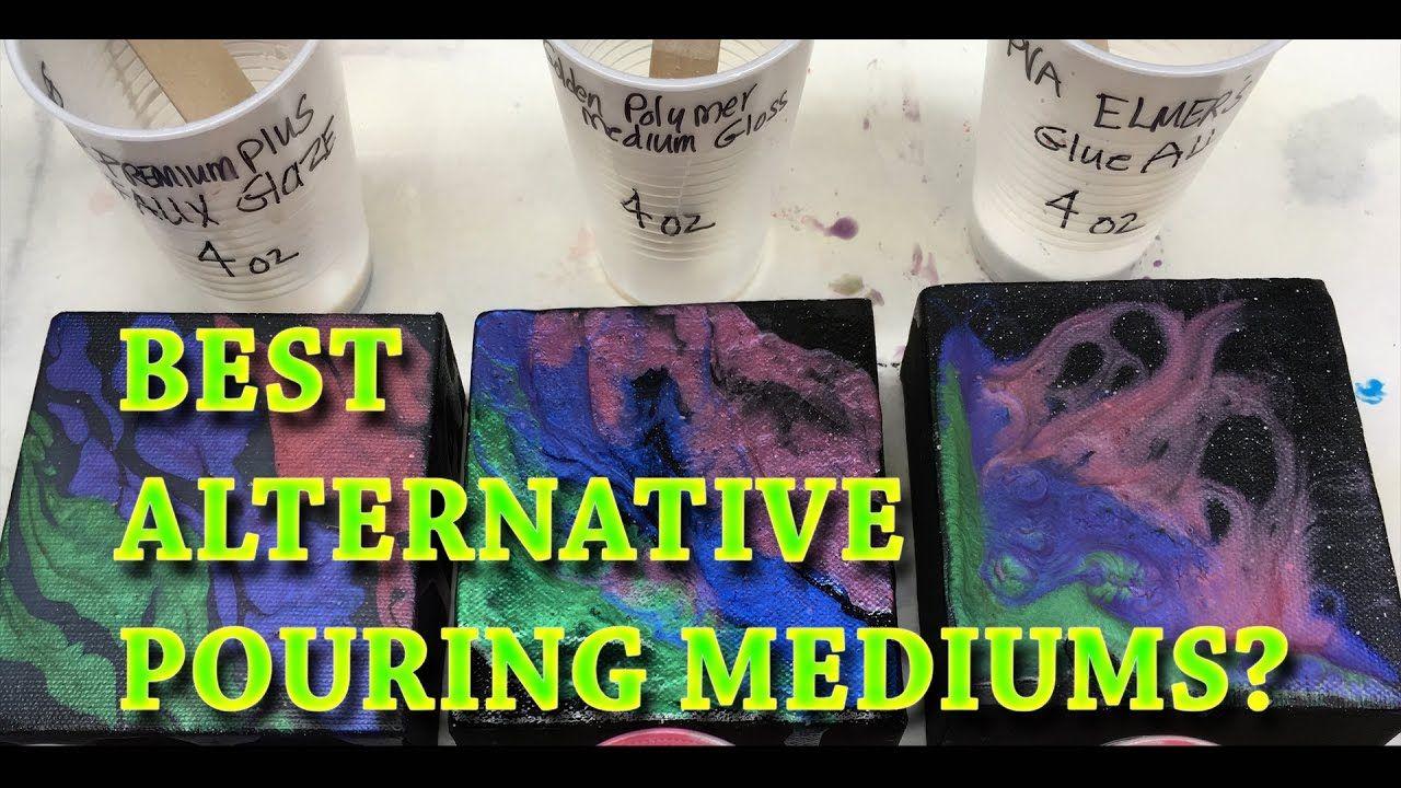 3 Best Alternative Pouring Mediums For Fluid Acrylic